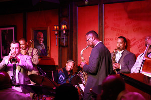 As guest of Delfeayo Marsalis at the Dirty Dog Jazz Cafe in Detroit – Grosse Pointe