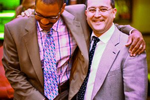 Happy to be a guest of Delfeayo Marsalis in June 2012 in Detroit, Michigan. Photo by Kyla Dorsey.